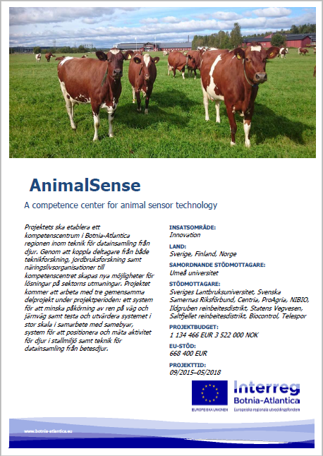 AnimalSense - A competence center for animal sensor technology ...