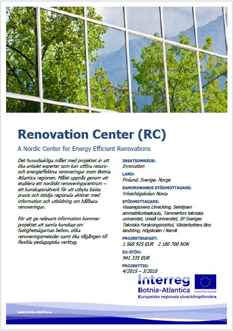 Energy Efficient Renovations : Renovation center a nordic for energy efficient